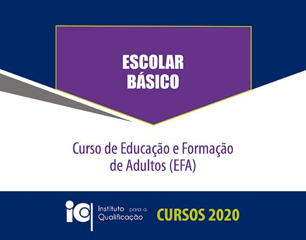 Curso de Educação e Formação de Adultos - Escolar Básico