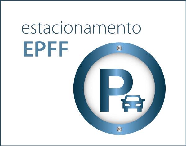 Estacionamento na Escola Profissional Dr. Francisco Fernandes