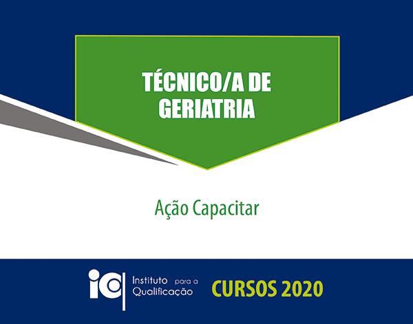 Técnico/a de Geriatria