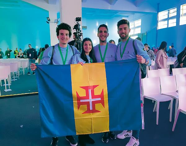 Medalhas arrecadadas no Campeonato Nacional das Profissões – Skills Portugal