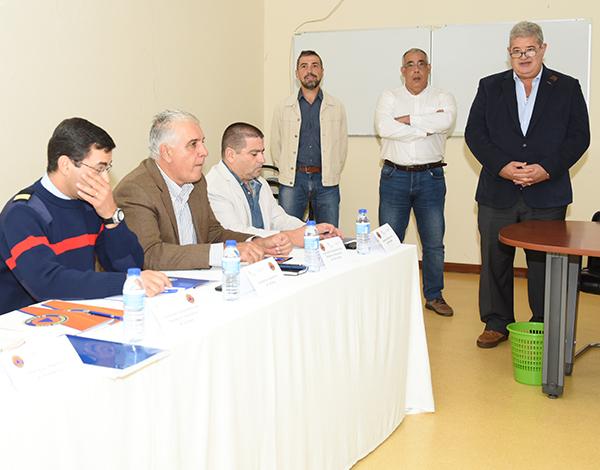 Pedro Ramos no 1º Conselho Regional dos Bombeiros