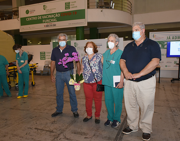 Madeira alcança 100 mil pessoas com vacinação completa