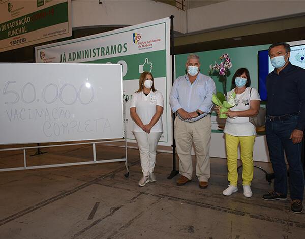 Madeira já vacinou mais de 50 mil pessoas com a segunda dose
