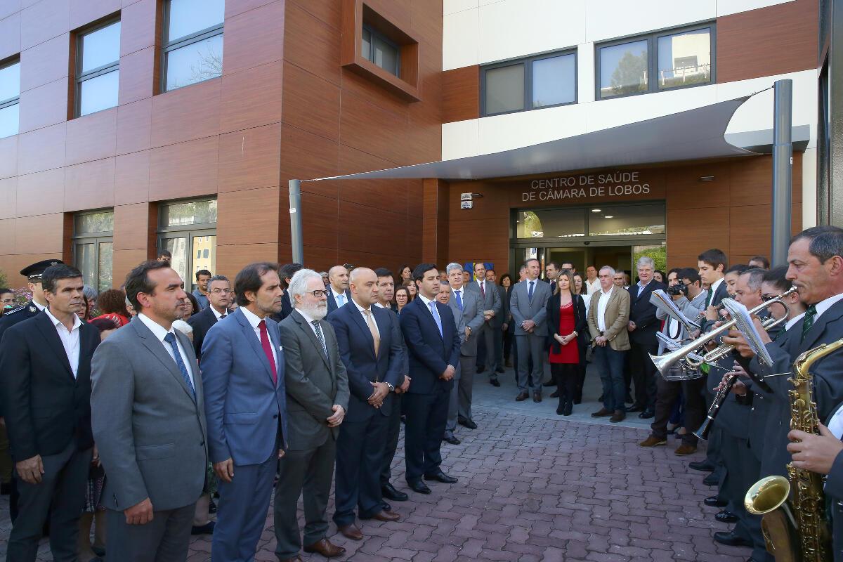 Novo centro de saúde de Câmara de Lobos foi inaugurado pelo Presidente do Governo Regional da Madeira
