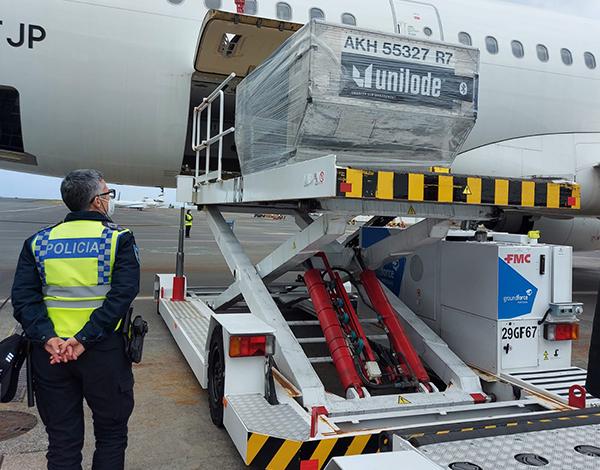 Operação do Aeroporto: 243 passageiros testados em segurança e de forma célere.