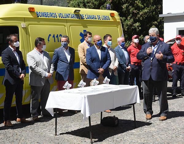 Bombeiros no Curral das Freiras serão transferidos para as instalações da Escola Básica (inativa)