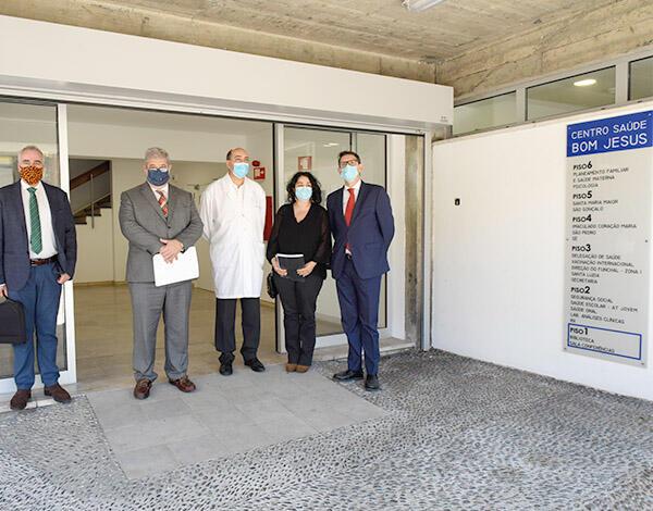 Pedro Ramos enalteceu o trabalho feito pela Autoridade de Saúde do Funchal
