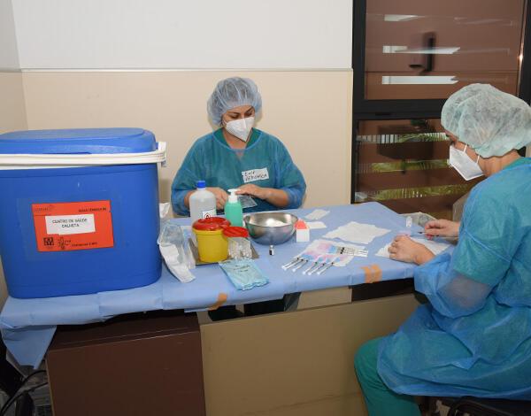 Vacinação contra a COVID-19 no concelho da Calheta