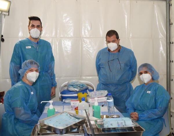 Vacinação contra a COVID-19 no concelho de Câmara de Lobos