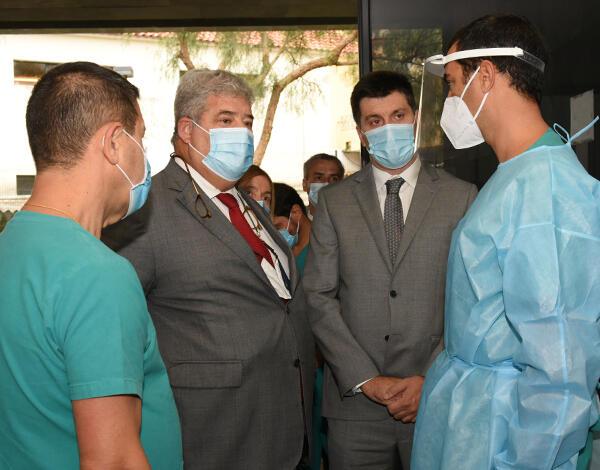 Serviço de Urgência do Centro de Saúde de São Vicente tem um novo circuito para os doentes