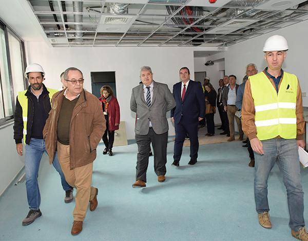 Obras do Centro de Saúde da Calheta concluidas em março