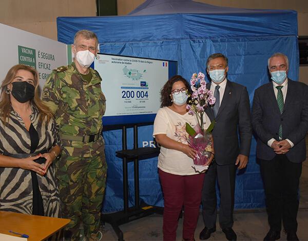 200 mil vacinas contra a COVID-19 administradas na Região Autonoma da Madeira