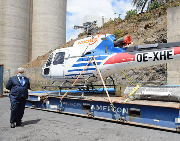 Helicóptero de combate a incêndios já se encontra na Madeira