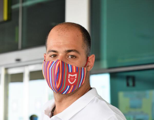 Use a máscara para se proteger da COVID-19.