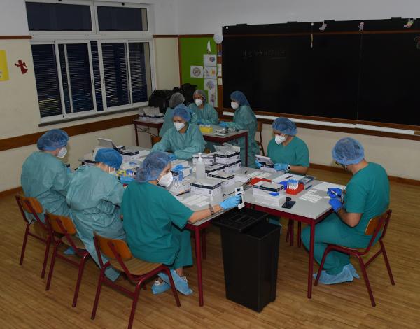 SESARAM realizou 1072 testes no Funchal e em Machico