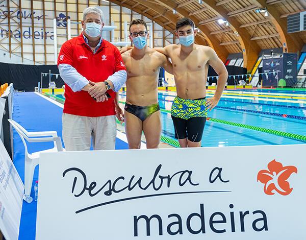 Pedro Ramos destacou a segurança do evento – Campeonato Europeu de Natação Adaptada -