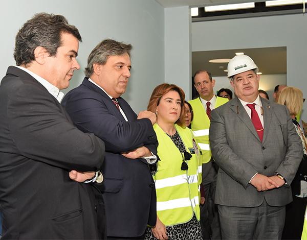 Obras de ampliação do Centro de Saúde da Nazaré na fase final