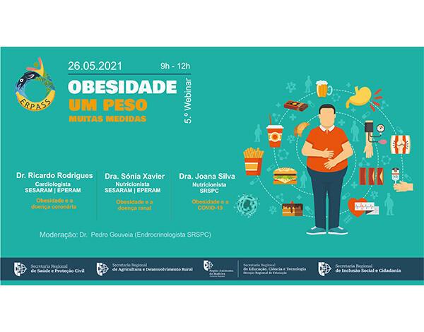 ERPASS promove webinar dedicado à obesidade