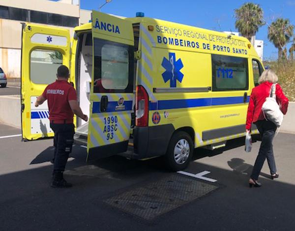 18 doentes acamados vacinados contra a COVID-19 no Porto Santo
