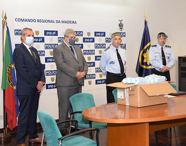 Pedro Ramos enaltece o papel das forças de segurança no combate à COVID-19