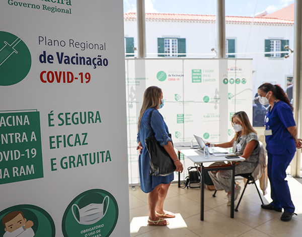 1008 vacinas administradas no Porto Santo em dois dias