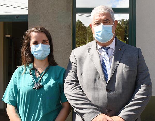 Centro de Saúde da Fajã da Ovelha conta com uma nova médica