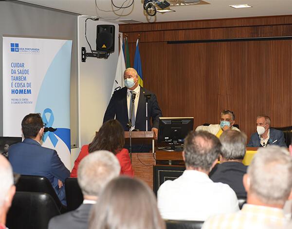 Pedro Ramos participou numa conferência dedicada ao cancro da próstata
