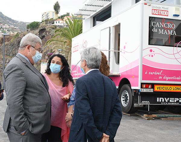 Rastreio ao cancro da mama convoca mais de 6000 mulheres de Câmara de Lobos