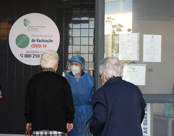 Vacinação contra a COVID-19 no concelho de Santana