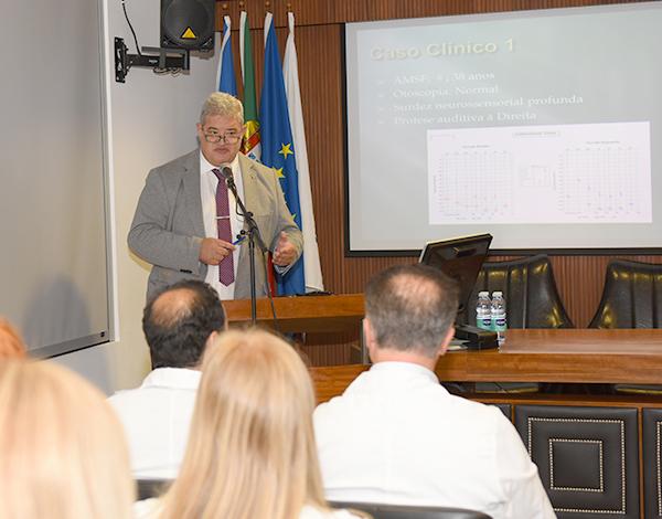 Pedro Ramos destaca a importância destes cursos para diferenciação dos profissionais de saúde do SESARAM