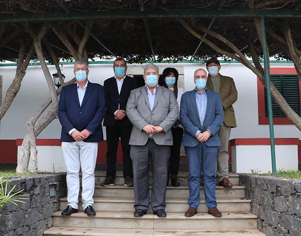 Pedro Ramos reuniu no Porto Santo para dar conhecertask-forceregional da vacinação contra a COVID-19