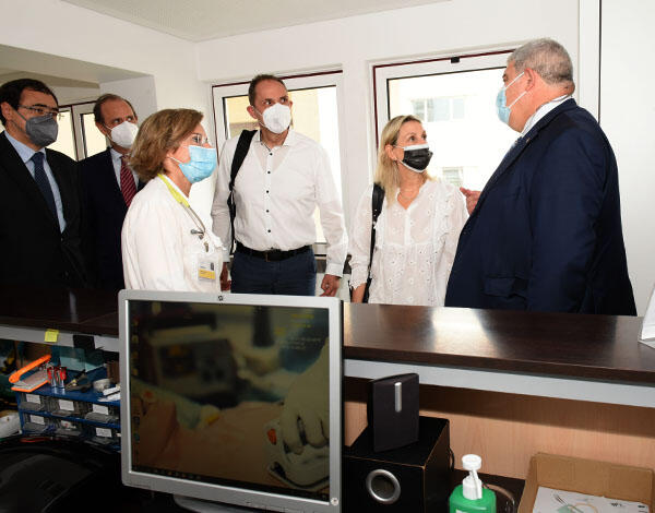 Responsável da Europa pelo Cluster da Saúde visita projetos inovadores no SESARAM