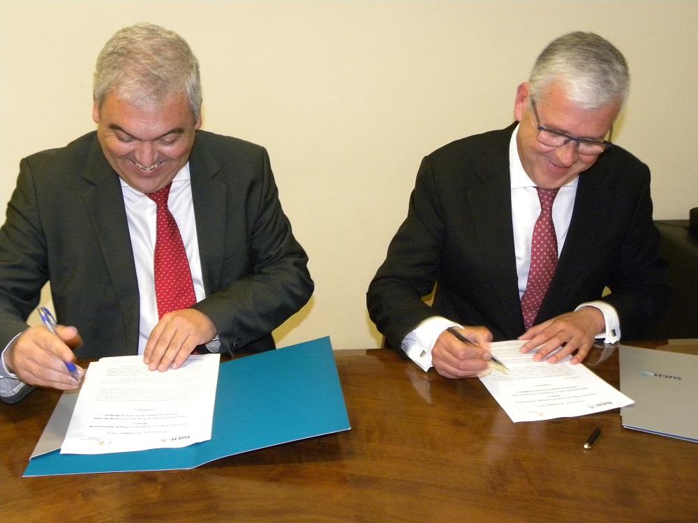 Secretário da Saúde assinou protocolo para a revisão do programa funcional do Novo Hospital