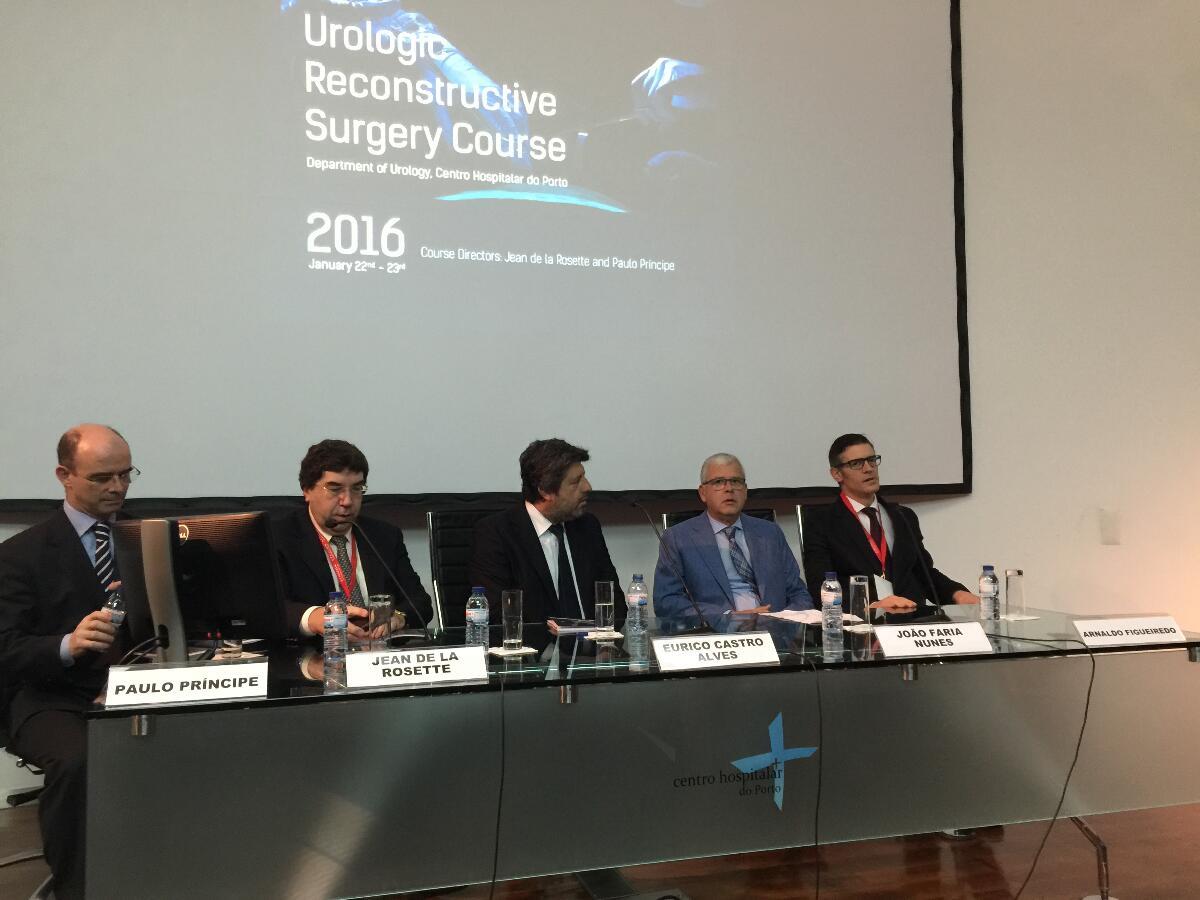 Secretário da Saúde em congresso internacional no Porto