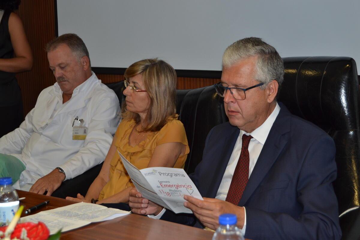 Semana Internacional de Emergência Médica começou hoje na Madeira