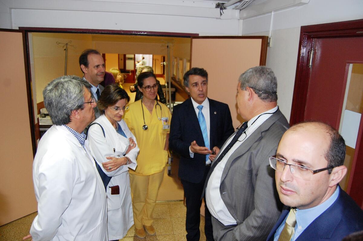 Pedro Ramos considerou positiva a visita da Ordem dos Médicos
