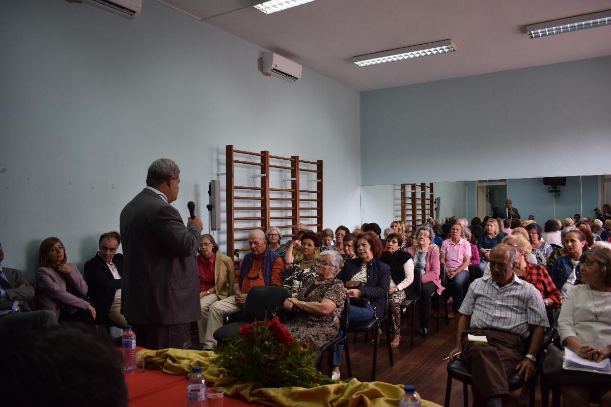 """Iniciativa """"Percursos de literacia"""" reuniu mais de 70 idosos em Santa Luzia"""