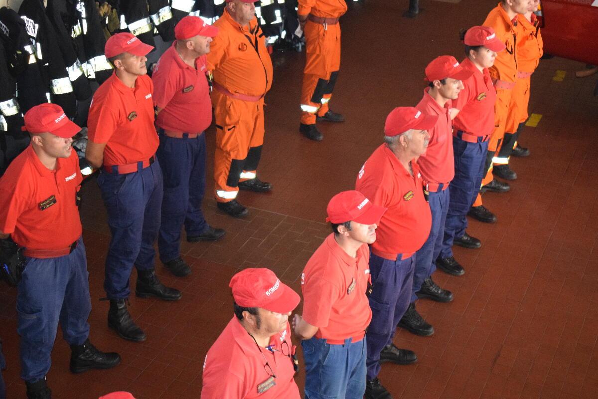 Governo Regional entrega mais 111 mil euros aos bombeiros até ao final do ano