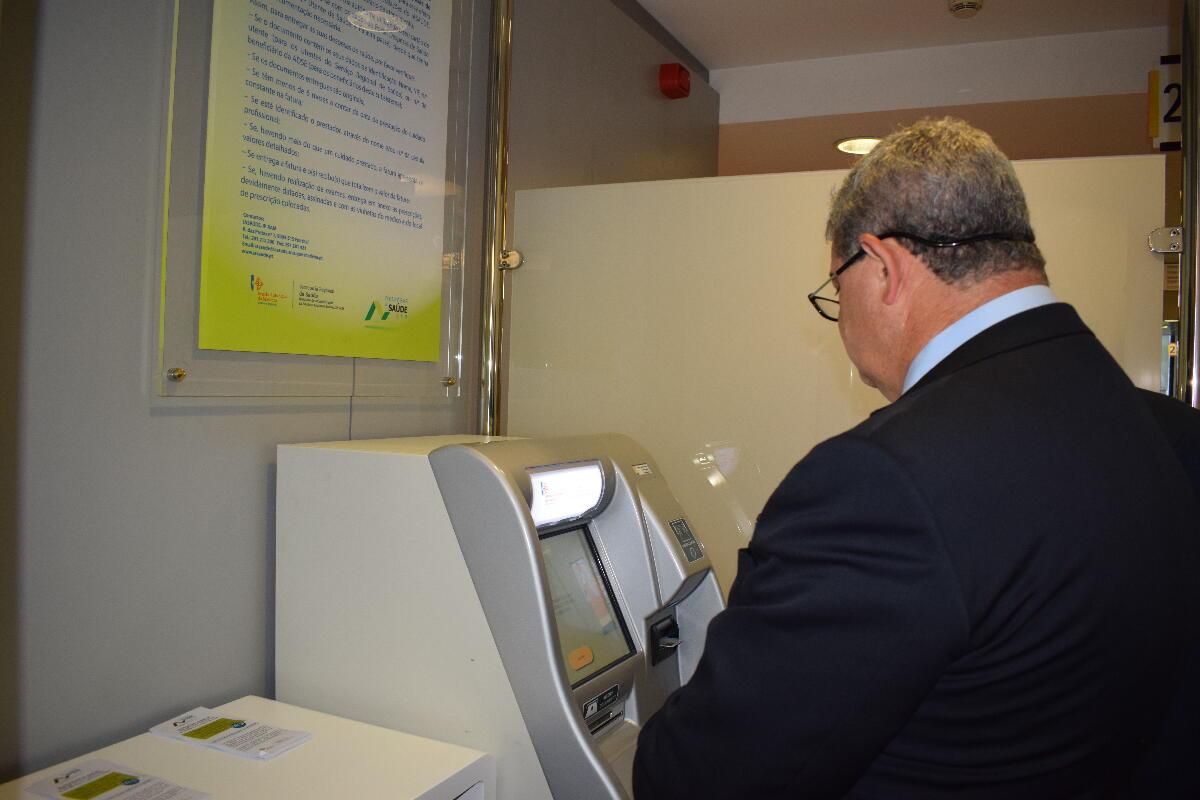 Balcão Automático da Saúde na Loja do Cidadão