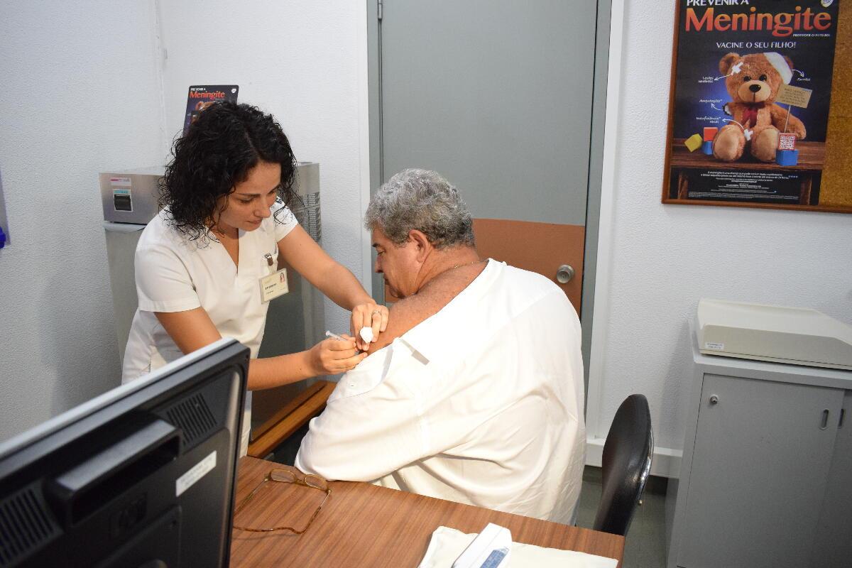 23 544 vacinas administradas contra a gripe