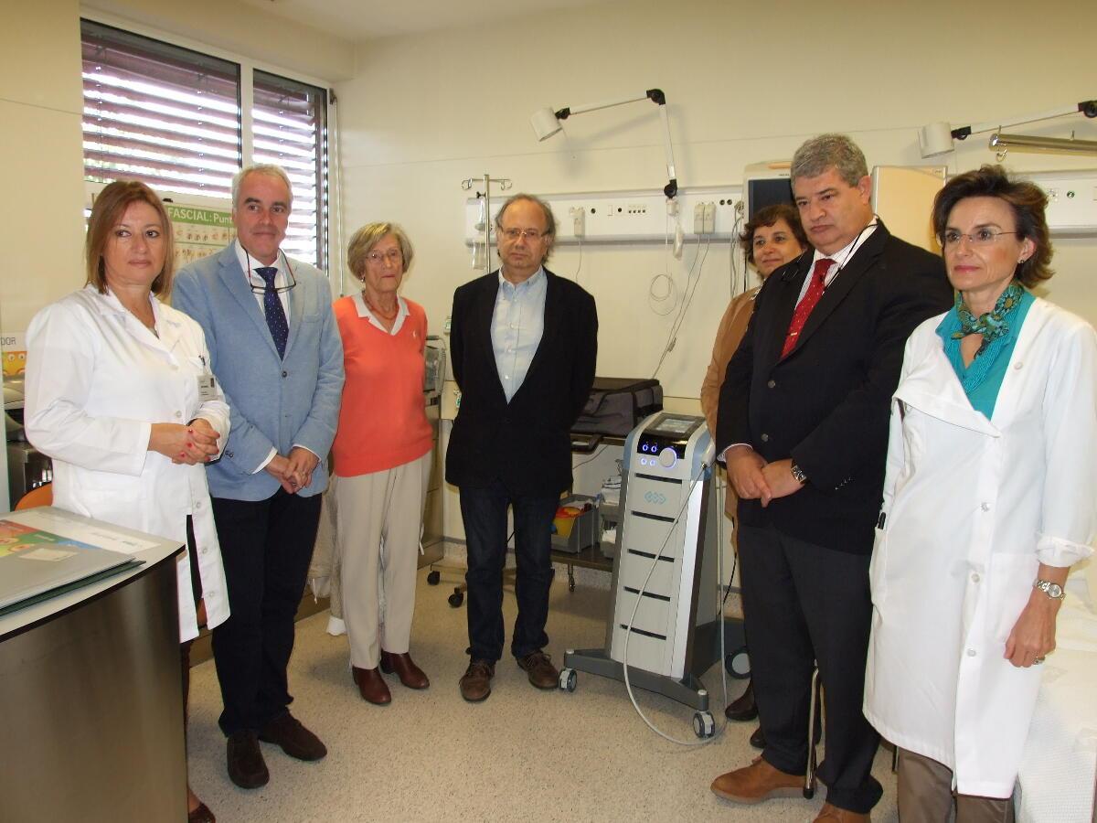 Centro Multidisciplinar da Medicina da Dor tem novo aparelho