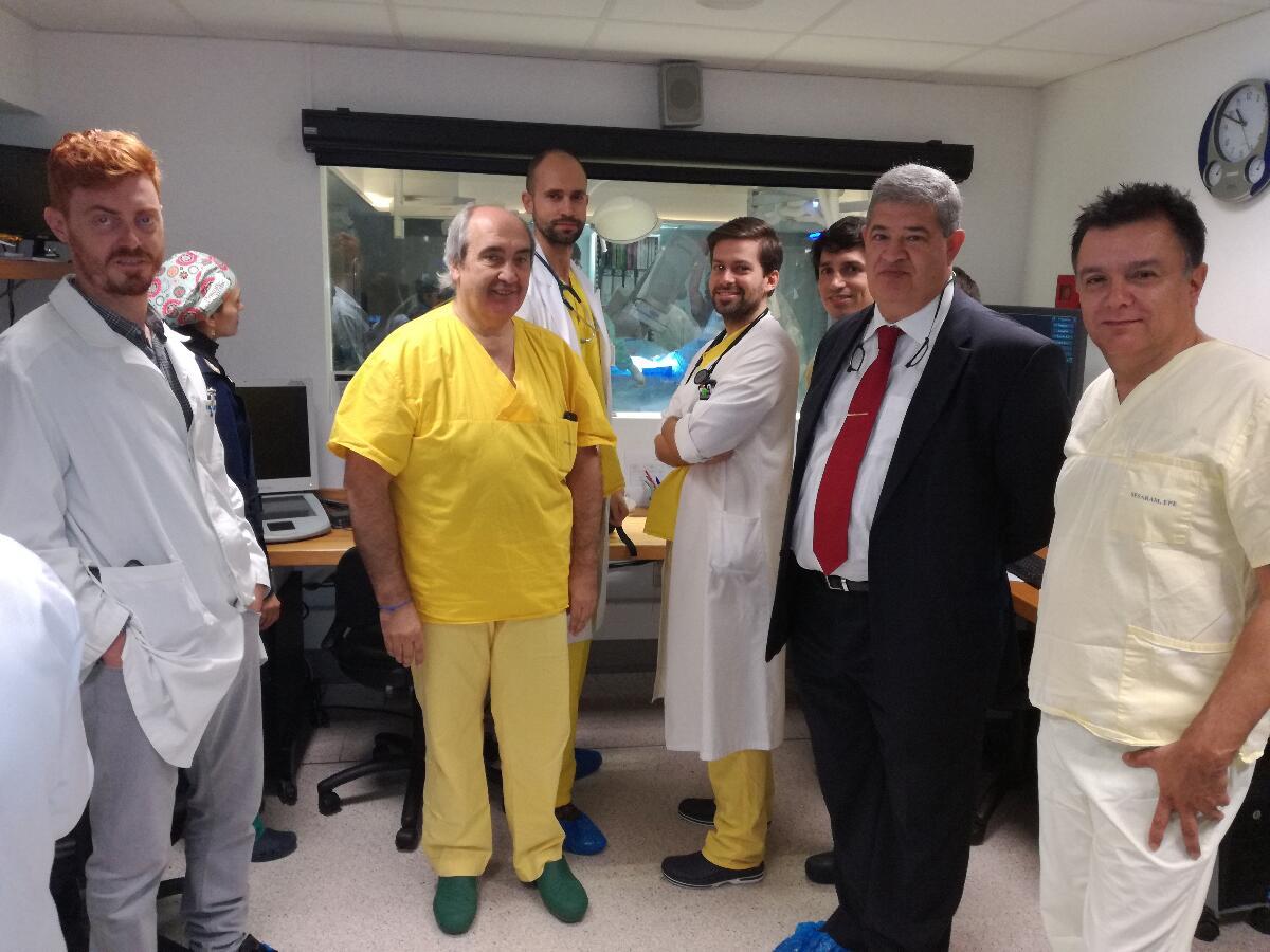 Técnica mini invasiva de imagem cardíaca no tratamento da coronária esquerda promovida no SESARAM