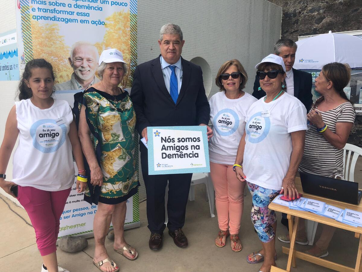 Pedro Ramos associa-se a campanha contra o estigma da demência