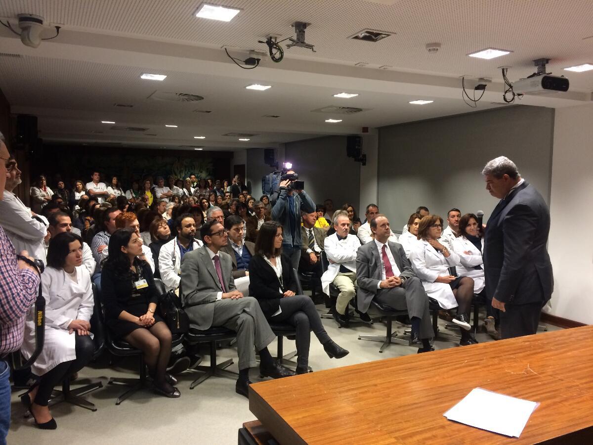 Proximidade e trabalho em equipa na apresentação das novas equipas do Serviço de Saúde