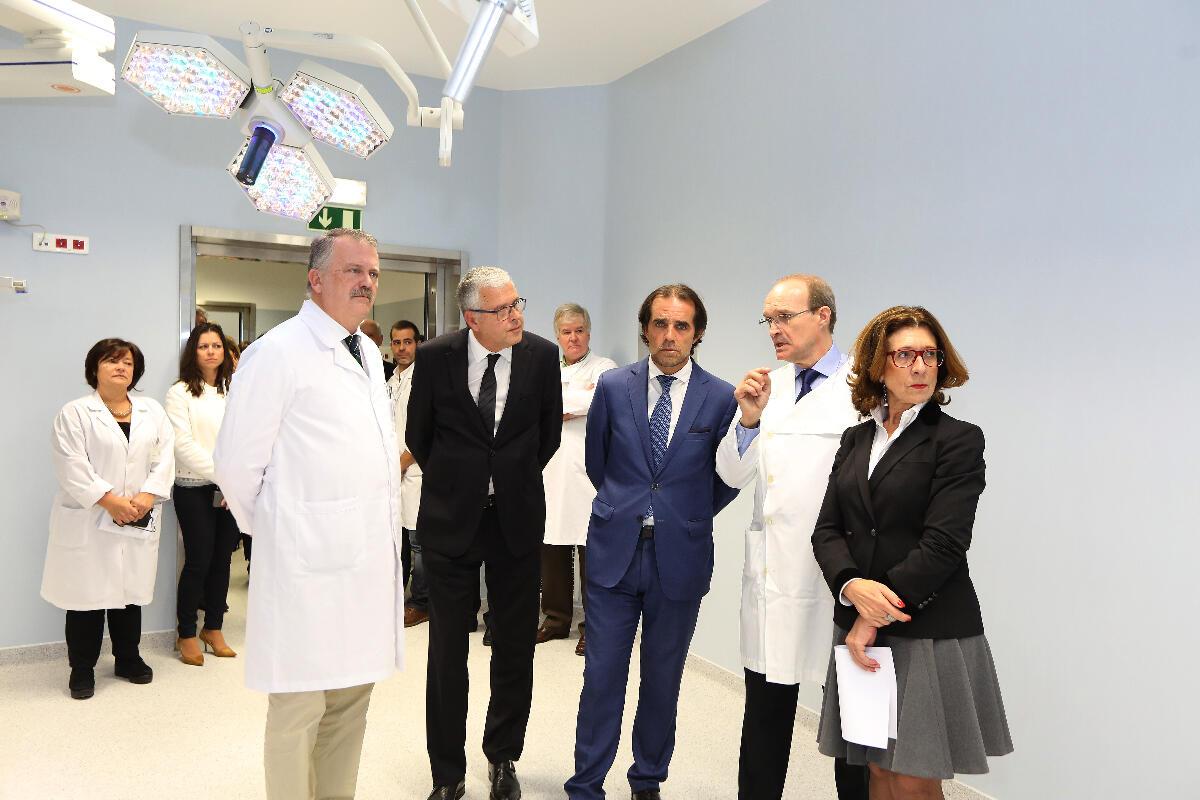 Inauguração da Unidade de Cirurgia de Ambulatório, no Hospital Dr. Nélio Mendonça