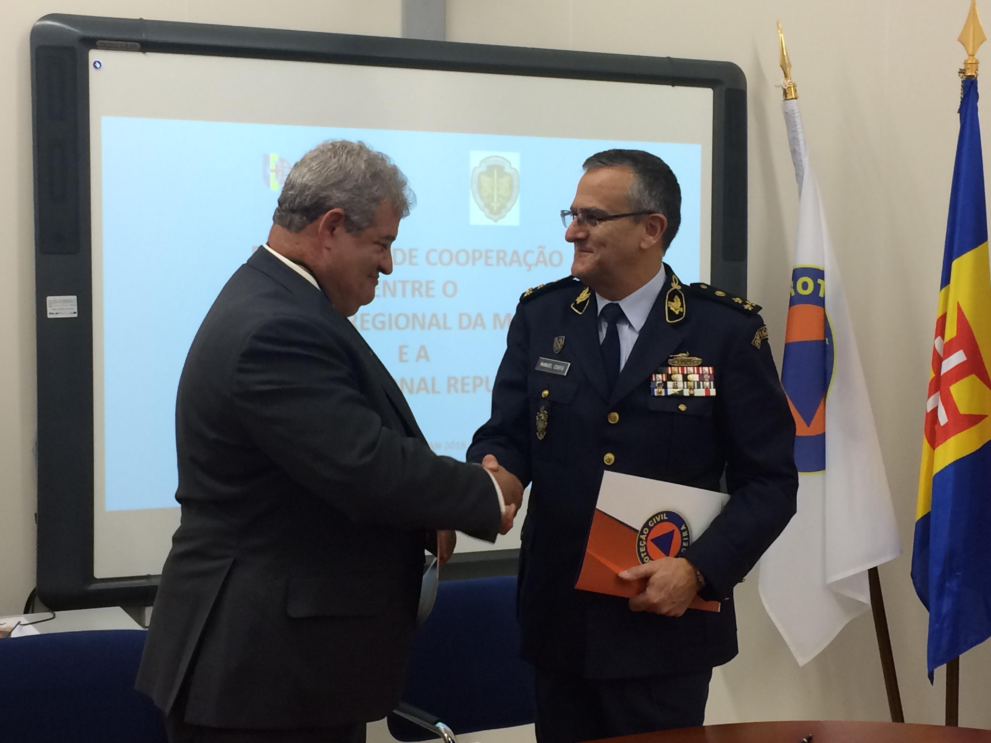 Governo reforça cooperação na proteção e socorro com a GNR