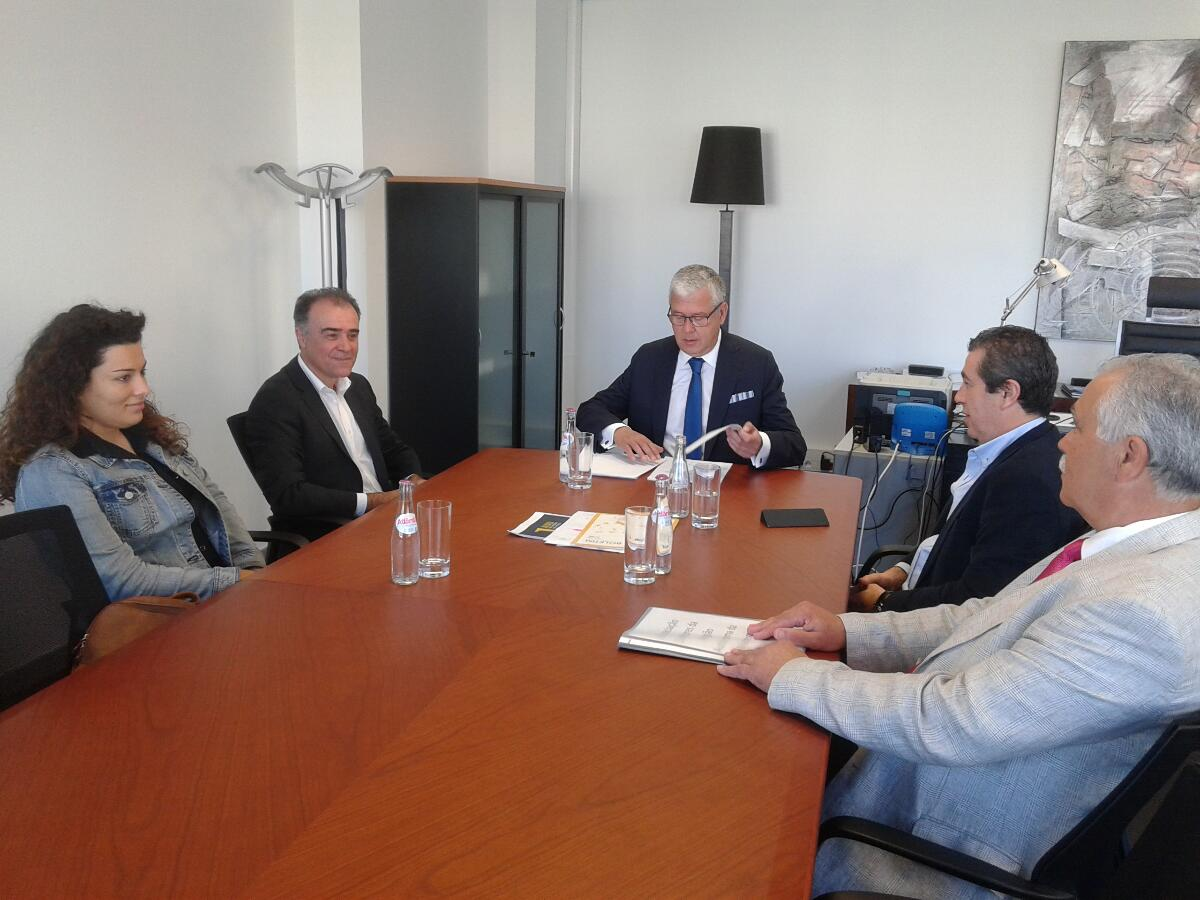 Secretário reuniu com a recém criada Associação de Dadores de Sangue da Madeira