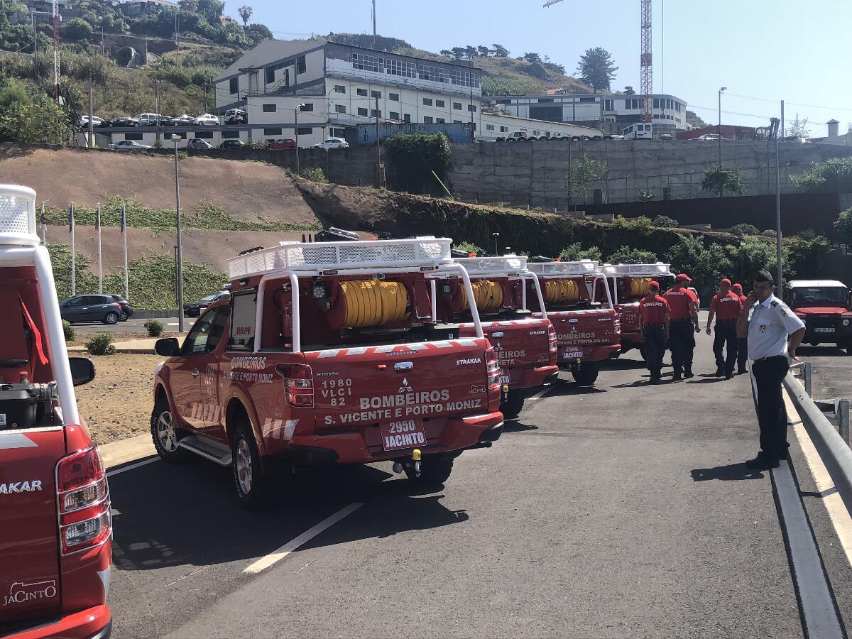 Governo reforça meios de combate a incêndios na Região