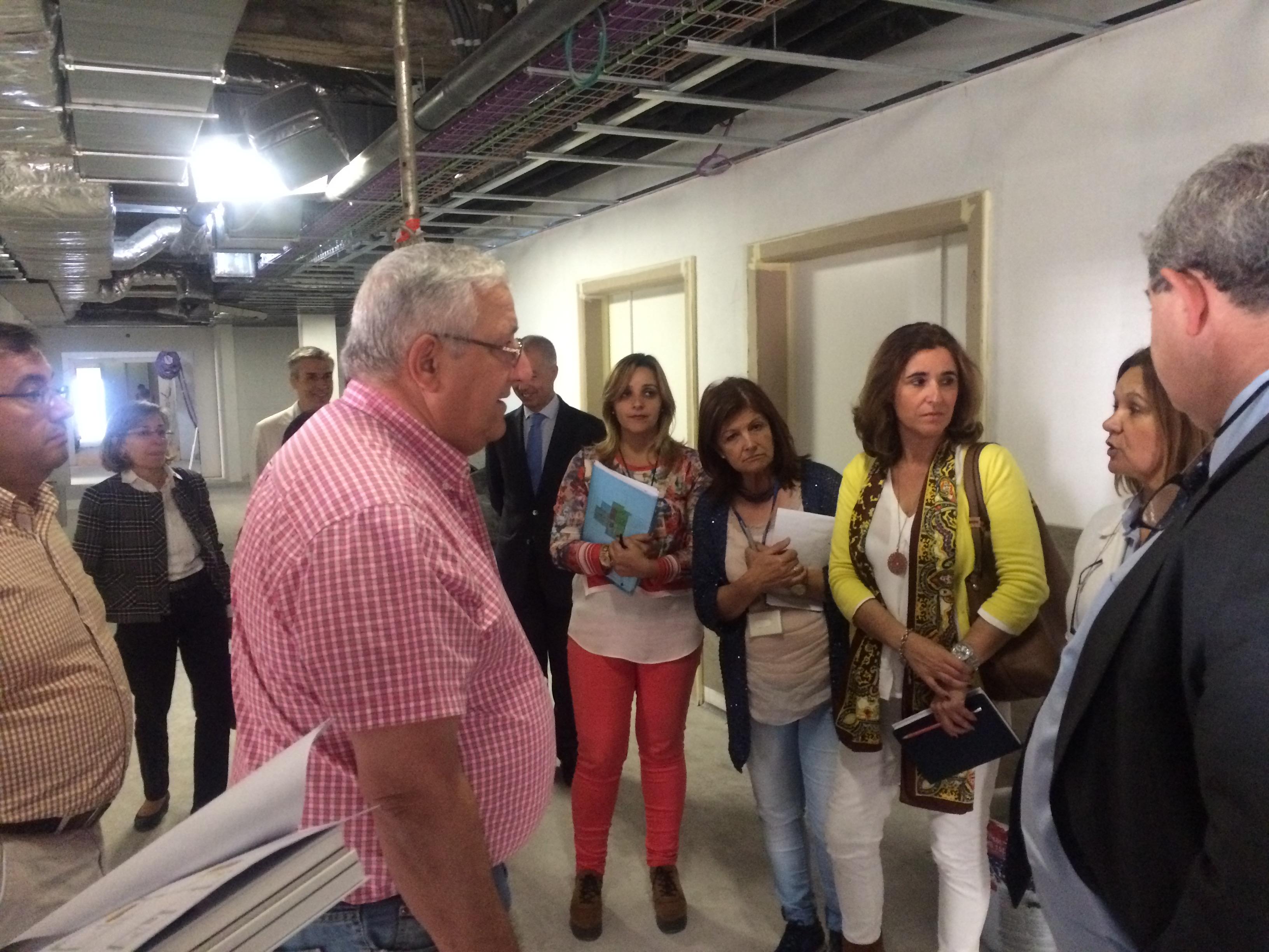 Secretário visitou obras em curso no centro de saúde do Bom Jesus