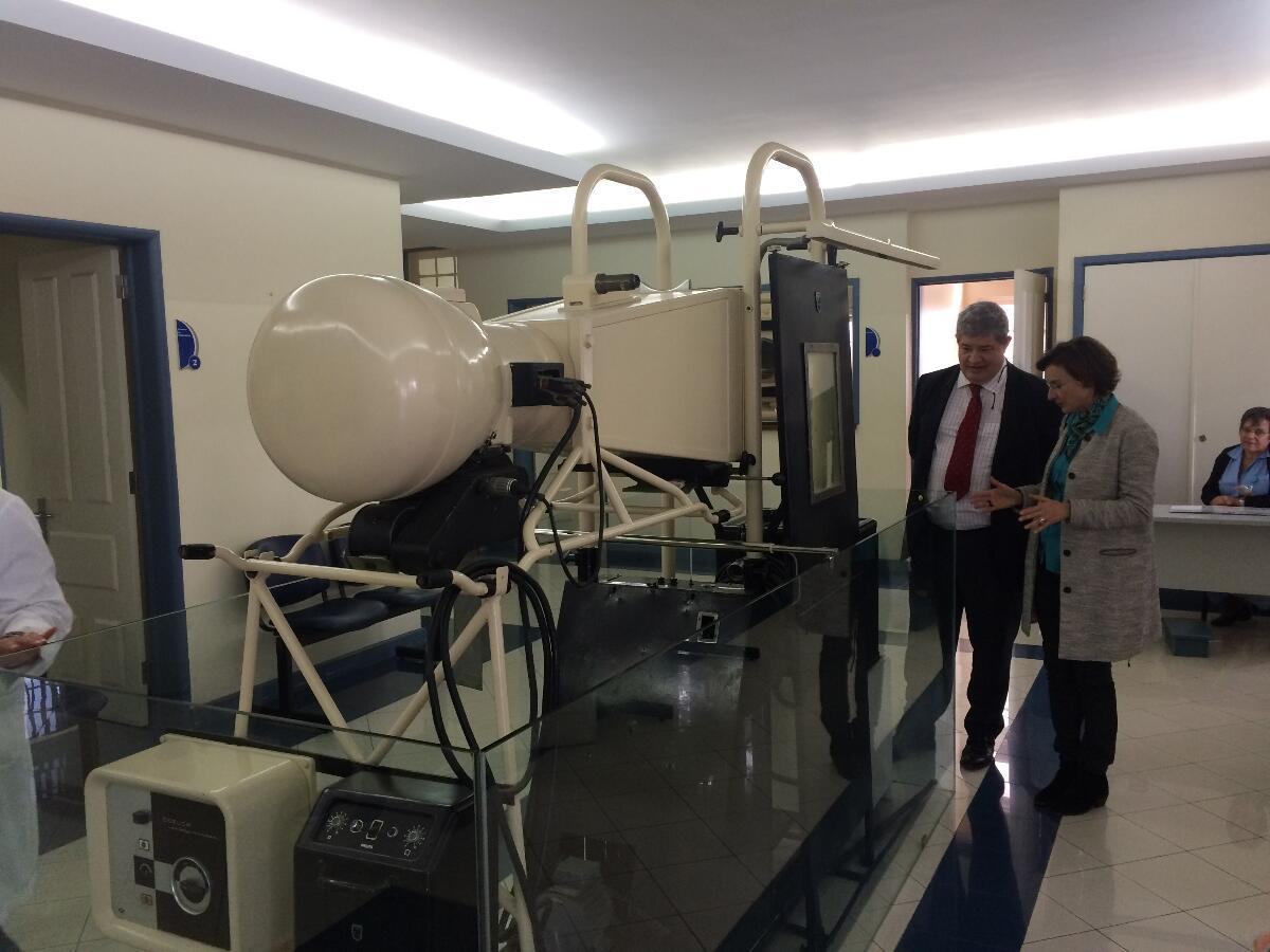 Pedro Ramos visitou Centro Dr. Agostinho Cardoso